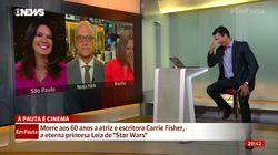 Ce journaliste brésilien a gagné la palme du mauvais goût pour sa blague sur Carrie