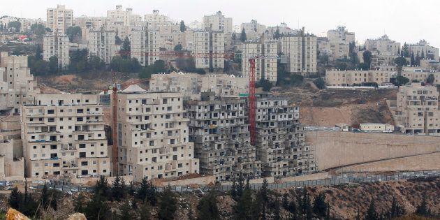 Des constructions à Jérusalem-Est le 28 décembre