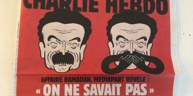 Moqué en Une de Charlie Hebdo, Mediapart