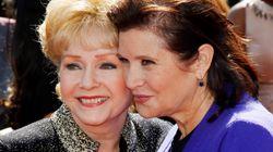 Carrie Fisher enfant regardant Debbie Reynolds, l'émouvante photo qui se partage pour leur rendre