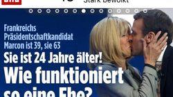 La presse étrangère découvre l'écart d'âge du couple