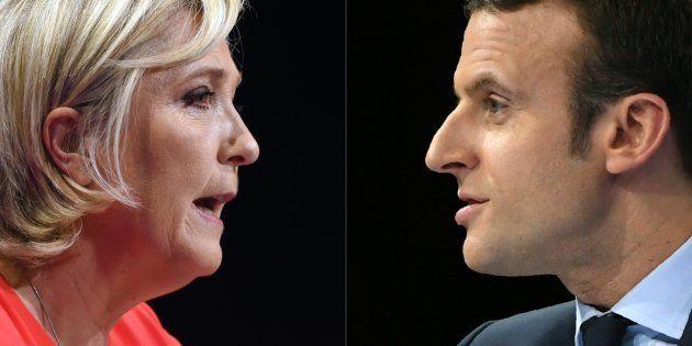 Le début de campagne de Marine Le Pen davantage jugé réussi que celui d'Emmanuel