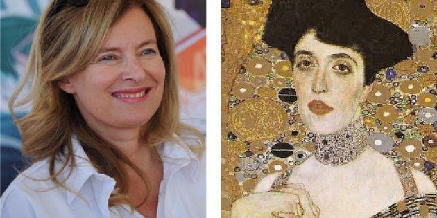 Valérie Trierweiler et Adèle Bloch-Bauer peinte par Gustav