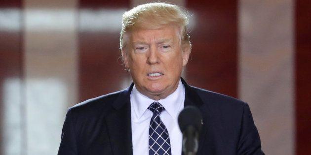 Donald Trump à Washington le 25