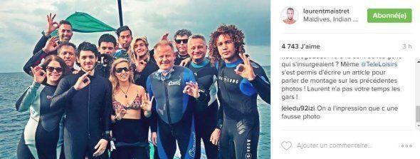 Laurent Maistret répond aux accusations sur ses prétendues fausses vacances aux