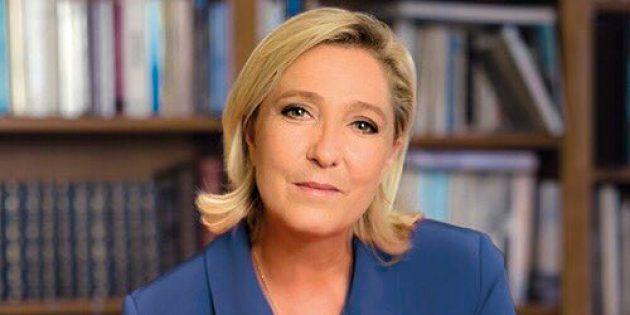 Voici l'affiche de campagne de Marine Le Pen pour le second