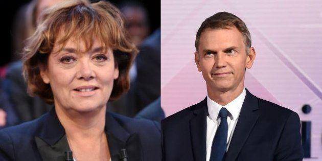 Nathalie Saint-Cricq et Christophe Jakubyszyn animeront le débat d'entre-deux-tours de la