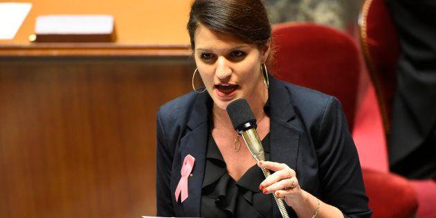 La secrétaire d'Etat chargée de l'égalité entre les femmes et les hommes Marlène