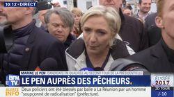 Marine Le Pen dément avoir distribué des sifflets pour perturber la visite d'Emmanuel Macron à Whirlpool