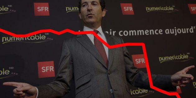 Plombé par la débâcle de SFR, Altice a perdu 33% en bourse en une