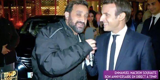 Hanouna déboule à TF1 et interpelle Macron qui s'empare du