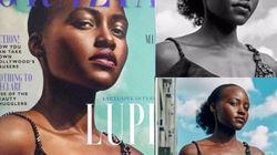 Lupita Nyong'o interpelle le magazine qui a effacé ses cheveux afro en