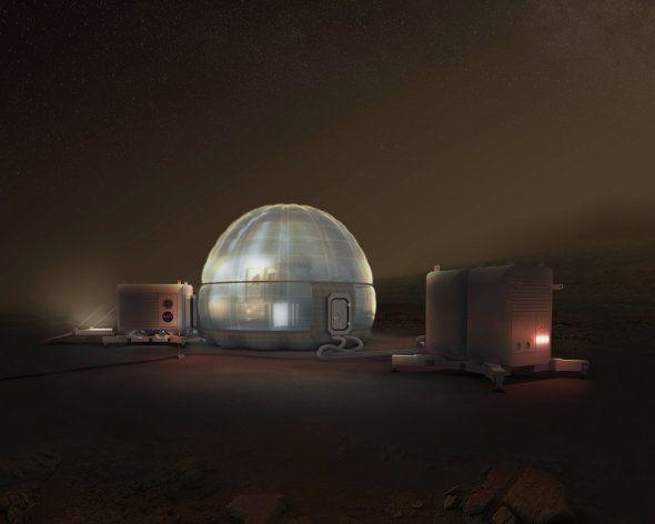 Découvrez l'igloo de Mars concocté par la