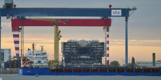 Le chantier naval de Saint-Nazaire repris par le groupe public italien