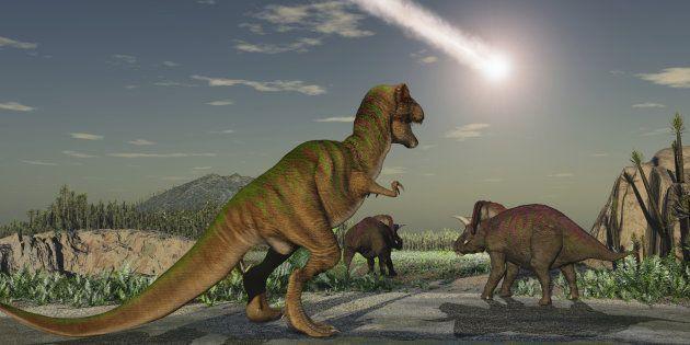 La cause de l'extinction des dinosaures est un débat qui est loin d'être