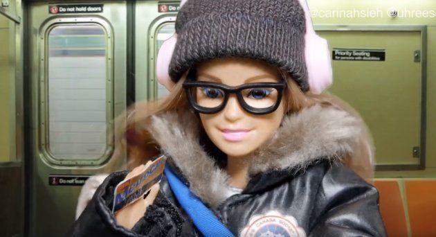 Cette Barbie new-yorkaise est pleine de clichés et c'est très