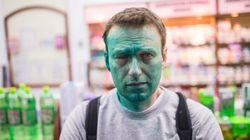 Le principal opposant à Vladimir Poutine à nouveau aspergé de colorant