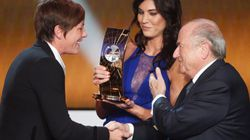 La joueuse de football Hope Solo accuse Sepp Blatter d'agression