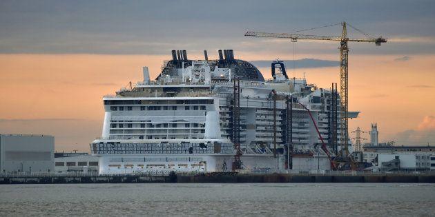 Le maire de Saint-Nazaire craint un hold-up de l'État italien sur le chantier naval (mais la France agit...