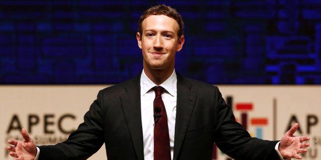 Mark Zuckerberg à Lima au Pérou le 19 novembre