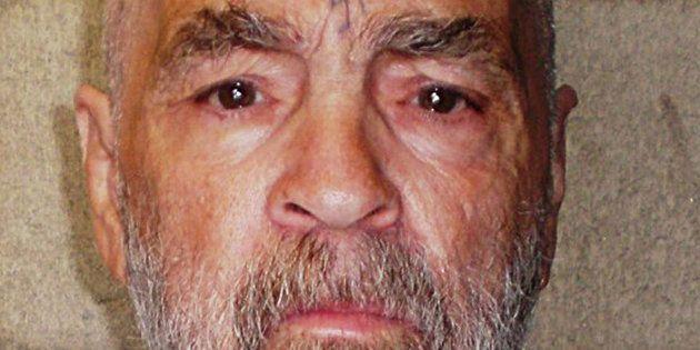 Charles Manson à la prison de Californie le 18 mars