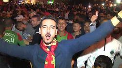 Le Maroc au mondial: liesse au Royaume et sur les Champs-Élysées, échauffourées à