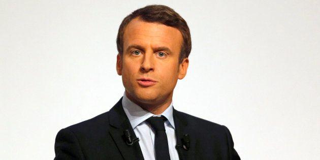 Emmanuel Macron en meeting à Chatellerault le 28