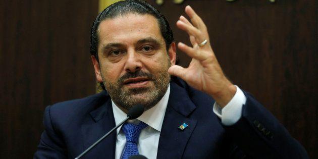 Saad Hariri, le Premier ministre libanais se