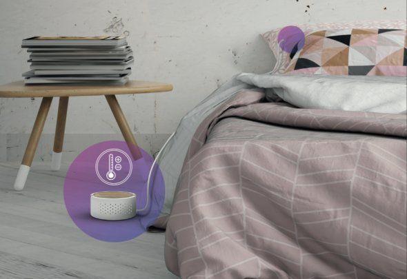 Au CES 2017, des oreillers connectés pour mieux