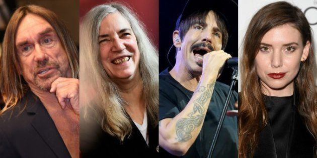 Iggy Pop, Patti Smith, les Red Hot Chili Peppers et Lykke Li apparaîtront