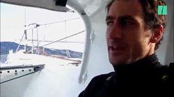 Gros niveau de stress (et du chocolat) sur notre bateau en pleine Transat Jacques