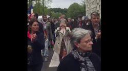 Nouvelle manifestation à Yerres, ville de Dupont-Aignan, après son ralliement à Marine Le