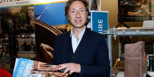 Stéphane Bern au Salon international du patrimoine culturel au Carrousel du Louvre, le 2 novembre à