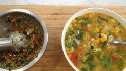 """""""Ma recette, vite fait, bien fait, de la soupe au"""