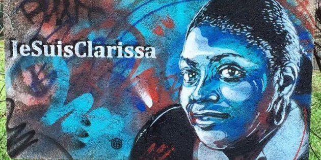L'artiste graffeur C215 rend hommage aux victimes des attentats de janvier