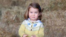 La princesse Charlotte ressemble de plus en plus à son