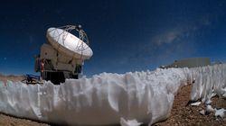 C'est la première fois que l'on retrouve ces structures de glace appelées