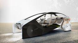 Le concept Car de BMW présenté au CES 2017 est très, très