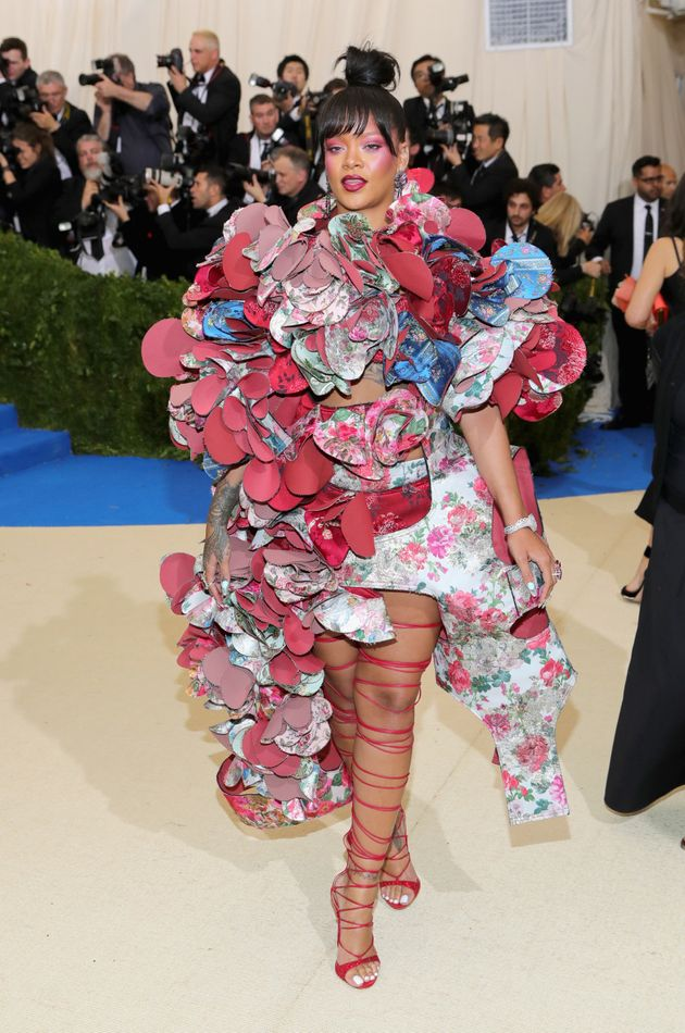 La robe de Rihanna au Met Gala 2017 a éclipsé toutes les