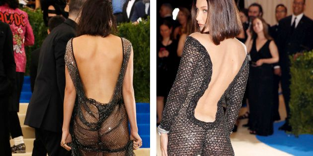 Kendall Jenner et Bella Hadid au gala du Met le 1er mai 2017 à New