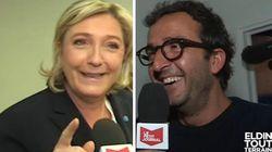 Tiens, Marine Le Pen s'est mise à tutoyer Cyrille