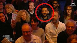 Cyril Hanouna est partout... même dans le public du Saturday Night Live de