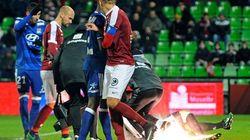 Lourde sanction pour le FC Metz après les jets de pétards sur Anthony Lopes contre