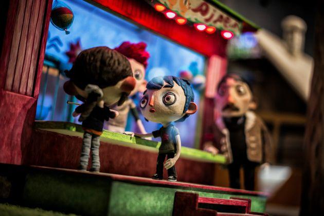 Photo de l'exposition au Musée miniature et cinéma de Lyon le 2