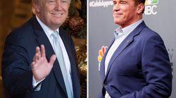 Trump flingue son successeur Schwarzy (et fait son propre éloge à la 3e