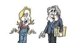 BLOG - De Macron ou Le Pen, qui va gagner la bataille de l'image au débat de