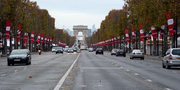 Les Champs-Elysées à