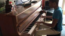 Damso a été bluffé par la reprise au piano de son album par un