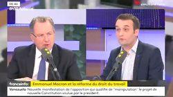 Richard Ferrand et Florian Philippot s'écharpent sur En Marche!: