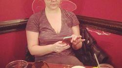 Amy Schumer se prépare à la cérémonie des Golden Globes à sa